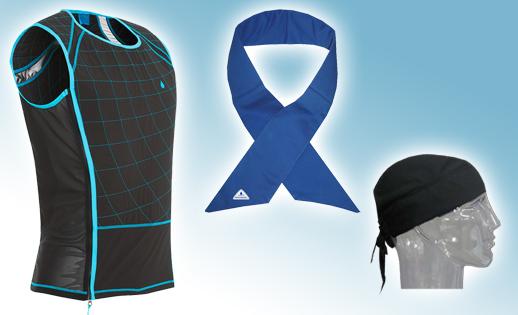 Veste et accessoires refroidissants Hyperkewl Techniche