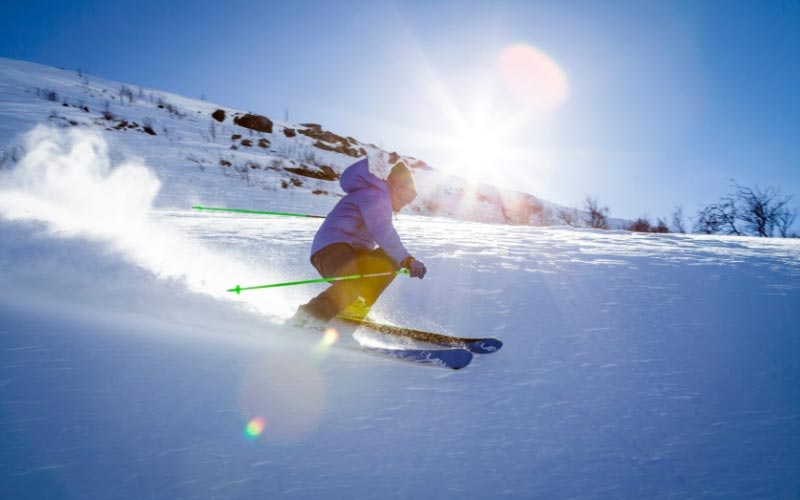 sports d'hiver avec Techniche