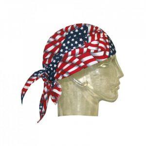 """Bandana rafraîchissant Hyperkewl motif """"drapeau américain"""""""